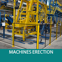 machines erection